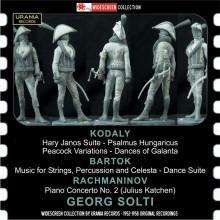Kodaly - Bartok - Rachmaninov: Opere orchestrali