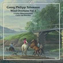 TELEMANN: Wind Overtures - Vol.2